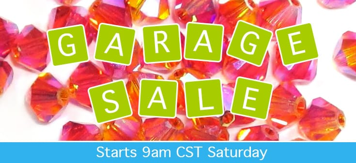 Bead Garage Sale at Jill Wiseman Designs
