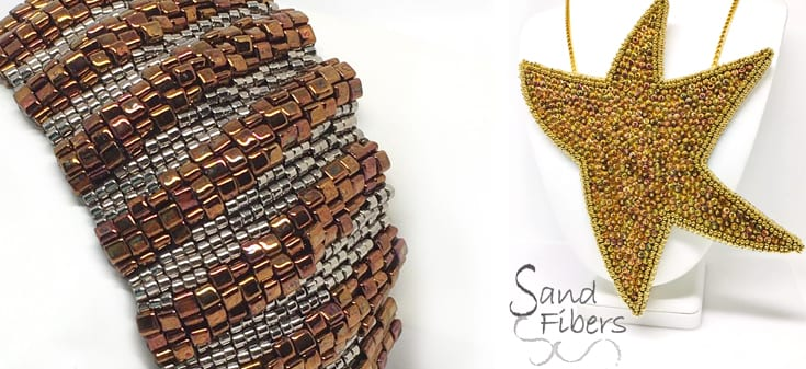 Sand Fibers - Carol Dean Sharpe - patterns now available from Jill Wiseman Designs